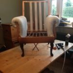Upholstery bench