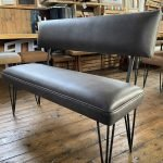 linwood leather bench