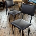 linwood leather chairs