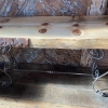 Monkey puzzle console table