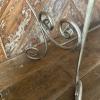 industrial steel scroll legs
