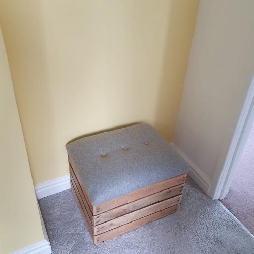 wooden storage apple crate