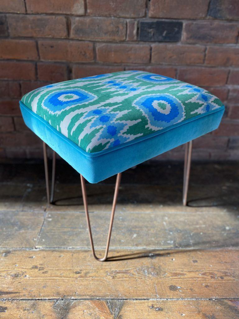 Industrial footstool